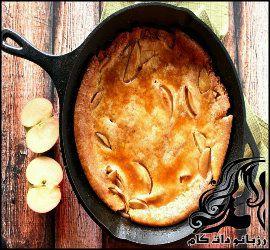 طرز تهیه پنکیک با مغز سیب