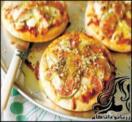 طرز تهیه پیتزای انجیر و پنیر