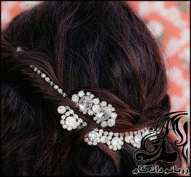 آموزش ساخت تاج مو عروس