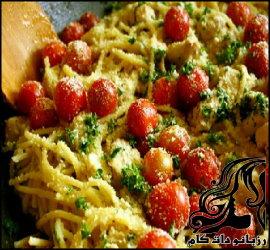 طرز تهیه اسپاگتی پومودورینی