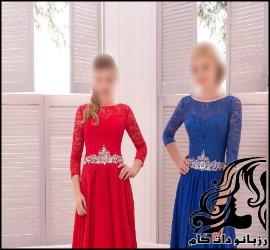 مدل لباس مجلسی گپور ۲۰۱۸