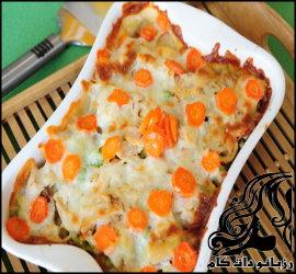 طرز تهیه موساکای هویج و مرغ