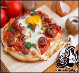 صبحانه با طعم پیتزا