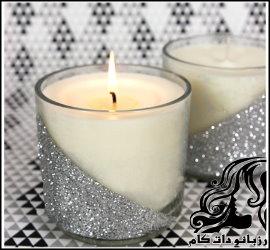 ساخت شمع اکلیلی