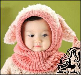 نمونه های زیبای شال و کلاه نوزادی