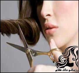 اصلاح مو در خانه