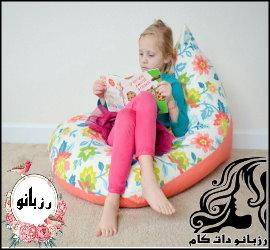 آموزش تصویری دوخت مبل راحتی کودک