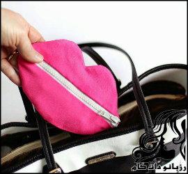 آموزش ساخت کیف لوازم آرایش