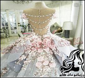 ساخت گل های لباس عروس (قسمت سوم)