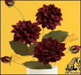 آموزش ساخت گل های زیبا