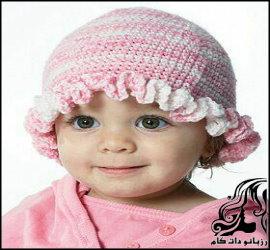 آموزش بافت کلاه لبه دار دخترانه