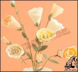آموزش ساخت گل های نمدی شیک و زیبا