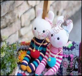 آموزش ساخت خرگوش جورابی