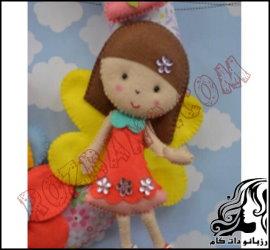 آموزش ساخت این عروسک نمدی زیبا