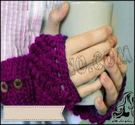 بافت دستکش نیم انگشتی