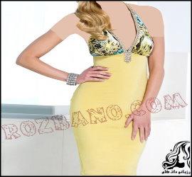 لباس مجلسی کوتاه زنانه از برند Baccio