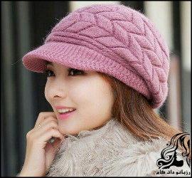 آموزش بافت کلاه زیبا زنانه دومیل