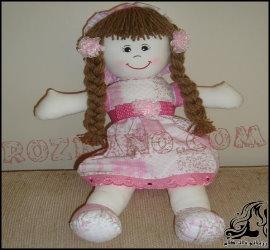 آموزش گام به گام ساخت عروسک کهنه