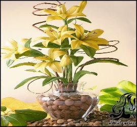 آموزش ساخت گل لیلیوم با خمیر چینی