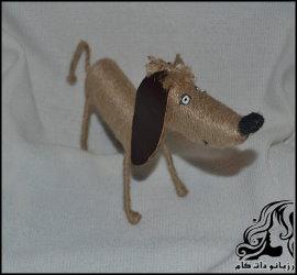 آموزش ساخت عروسک سگ کنفی، نماد سال ۹۷