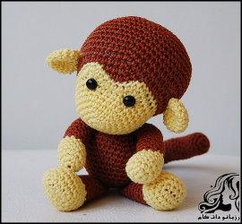 بافت عروسک میمون