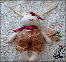 آموزش ساخت عروسک خرگوش زیبا