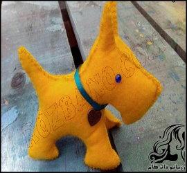 ساخت عروسک سگ نماد سال ۹۷
