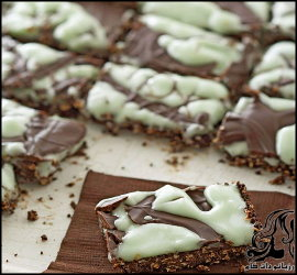 طرز تهیه لقمه های شکلات تلخ