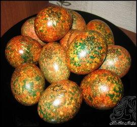 آموزش رنگ آمیزی تخم مرغ هفت سین