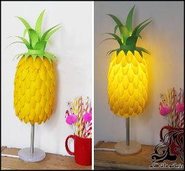 آموزش ساخت آباژور طرح آناناس