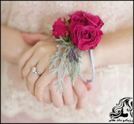 آموزش ساخت دستبند عروس