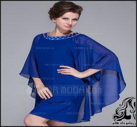 الگوهای آماده لباس مجلسی با رویه حجاب