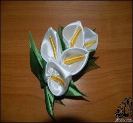 آموزش ساخت گل شیپوری