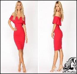 مدل های لباس مجلسی شیک و زیبای زنانه