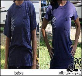 آموزش تنگ کردن لباس