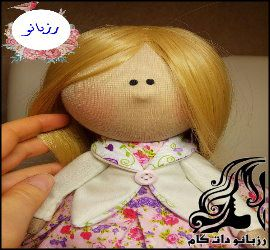 آموزش ساخت عروسک روسی