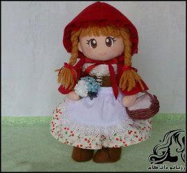 آموزش کامل دوخت عروسک دختر کلاه قرمزی