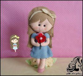 آموزش ساخت عروسک دختر کوچولو