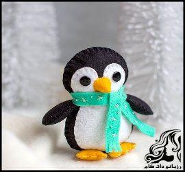 آموزش ساخت پنگوئن نمدی عروسکی