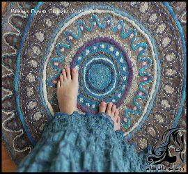 آموزش پادری یا فرش بدون دوخت