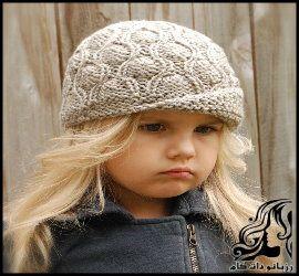 آموزش بافت کلاه دخترانه شیک