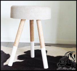 آموزش تصویری ساخت چهارپایه سیمانی