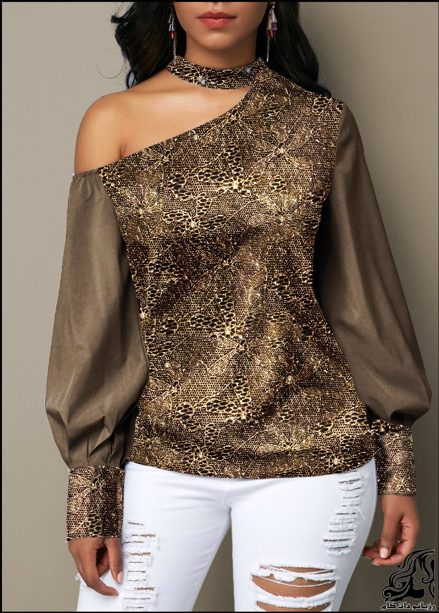 http://up.rozbano.com/view/2753194/Lantern%20Sleeve%20Cutout%20Shoulder%20Shining%20Blouse.jpg