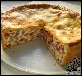طرز تهیه پیتزا روستیکو