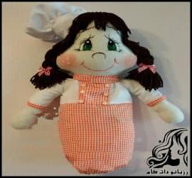 آموزش تصویری ساخت جا کیسه ای عروسکی