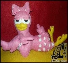 آموزش تصویری ساخت مرغ عروسکی