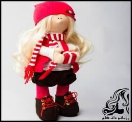 آموزش ساخت عروسک روسی مدل بینی دار