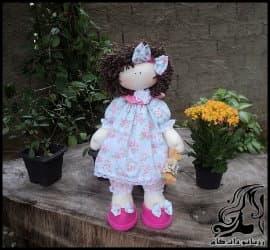 آموزش ساخت عروسک روسی شماره سه