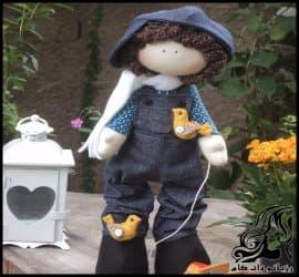آموزش ساخت عروسک روسی شماره جهار