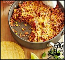 طرز تهیه تابه مکزیکی